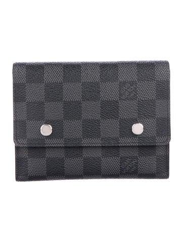020417d26420 Louis Vuitton Damier Graphite Adjustable Organizer Wallet - Accessories -  LOU147471