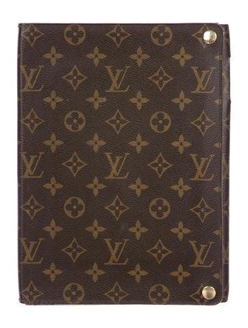 Louis Vuitton Monogram iPad Case None