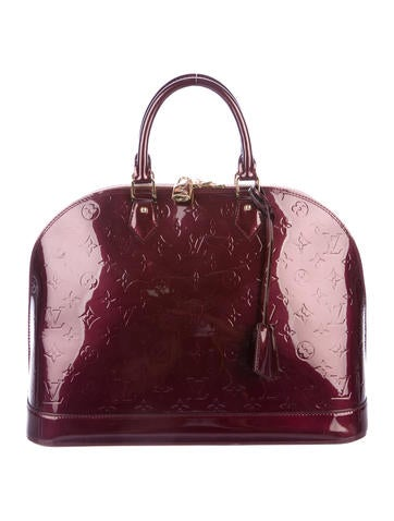 Louis Vuitton Vernis Alma GM None