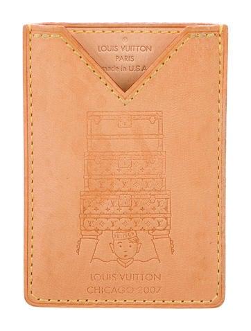Louis Vuitton Chicago Vachetta Card Holder None