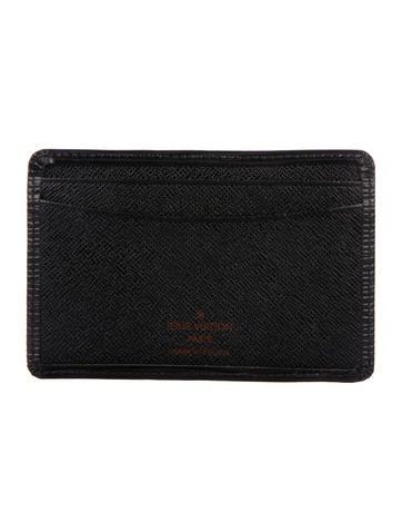 Louis Vuitton Epi Card Holder None