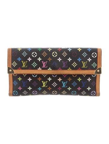 Louis Vuitton Multicolore Porte Tresor International Wallet None