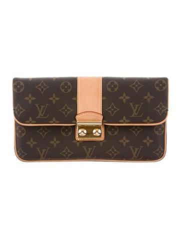 Louis Vuitton Monogram SC Slim Clutch None
