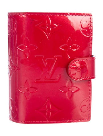 Louis Vuitton Vernis Mini Agenda Cover None