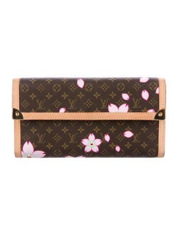Louis Vuitton Cherry Blossom International Wallet None