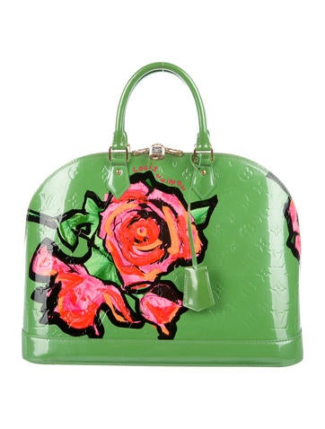 Louis Vuitton Vernis Roses Alma GM None