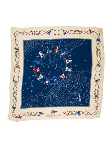 Louis Vuitton America's Cup Scarf None