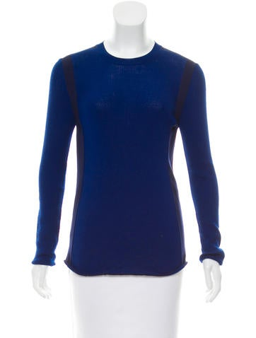 Louis Vuitton Ribbed Wool Sweater None