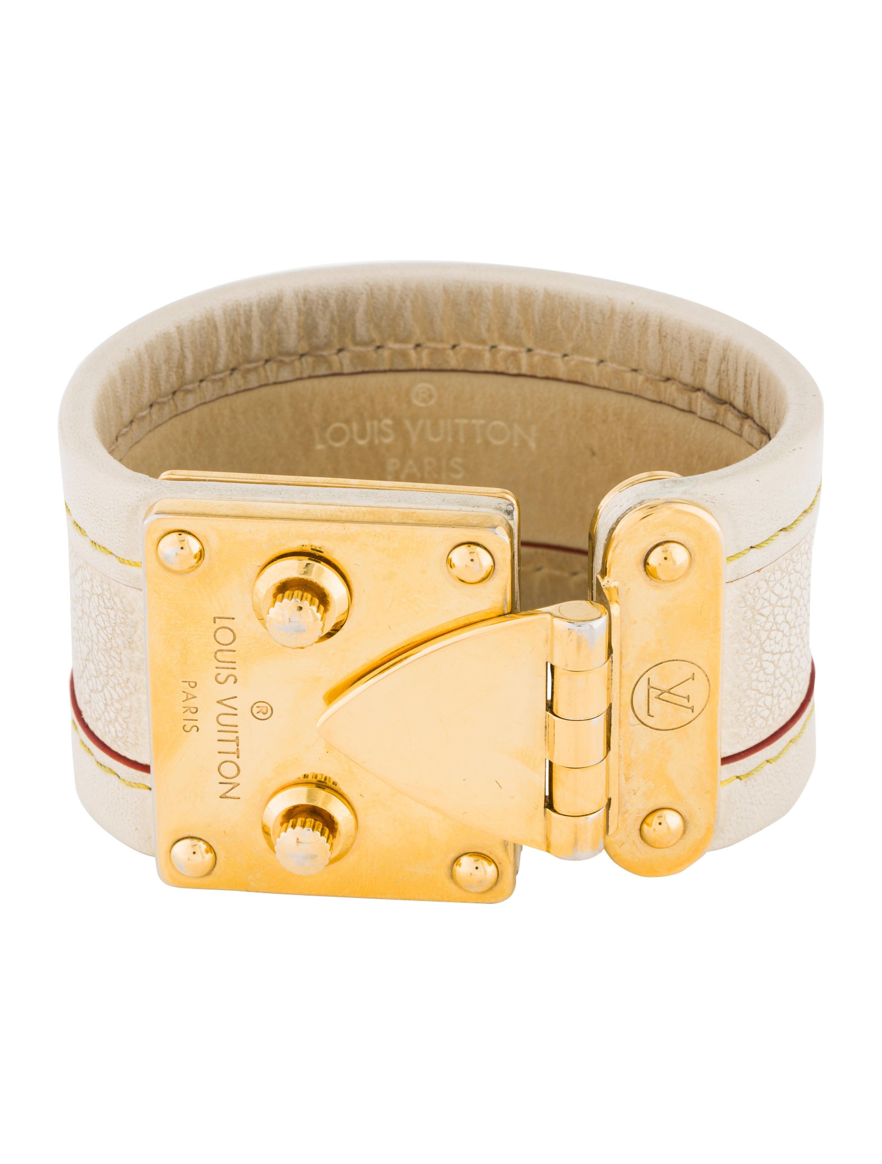 Louis Vuitton Leather Wrap Bracelet Bracelets Lou156393 The