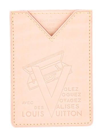 Louis Vuitton Vachetta Card Holder None