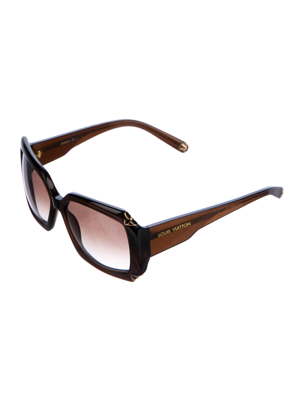 2c3e4d216ab Louis Vuitton Glitter Hortensia Sunglasses - Accessories - LOU157680 ...