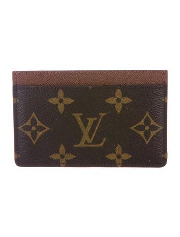 Louis Vuitton Monogram Card Holder None
