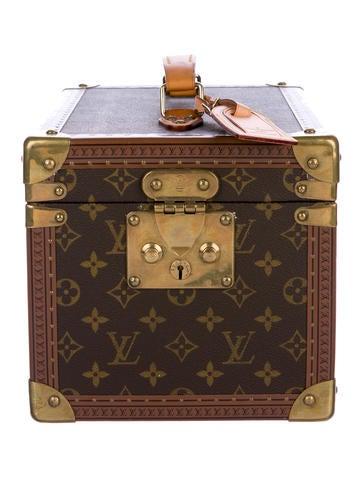 Louis Vuitton Vintage Monogram Vanity Trunk None