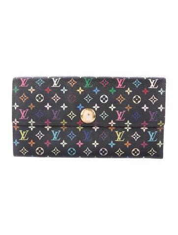 Louis Vuitton Multicolore Sarah Wallet None