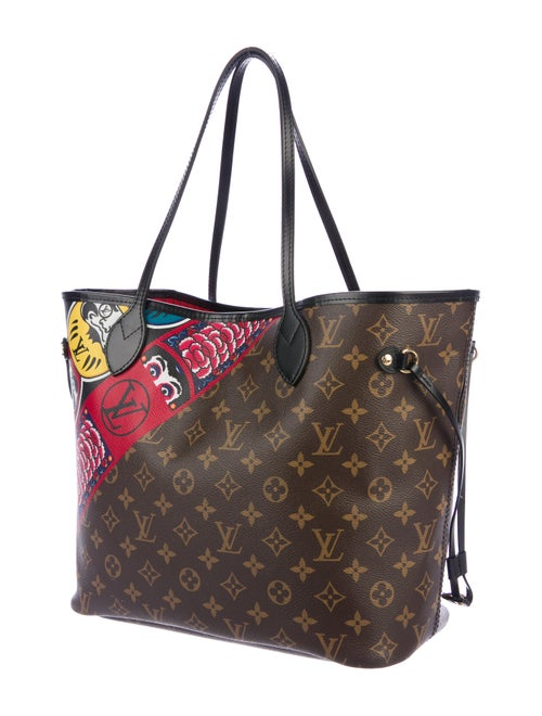 ce1f1f11b951 Louis Vuitton 2018 Monogram Kabuki Neverfull MM - Handbags ...