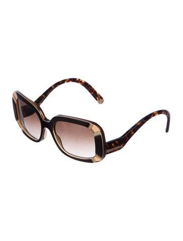 c220eb0a3945 Louis Vuitton Anemone Square Sunglasses - Accessories - LOU159395 ...