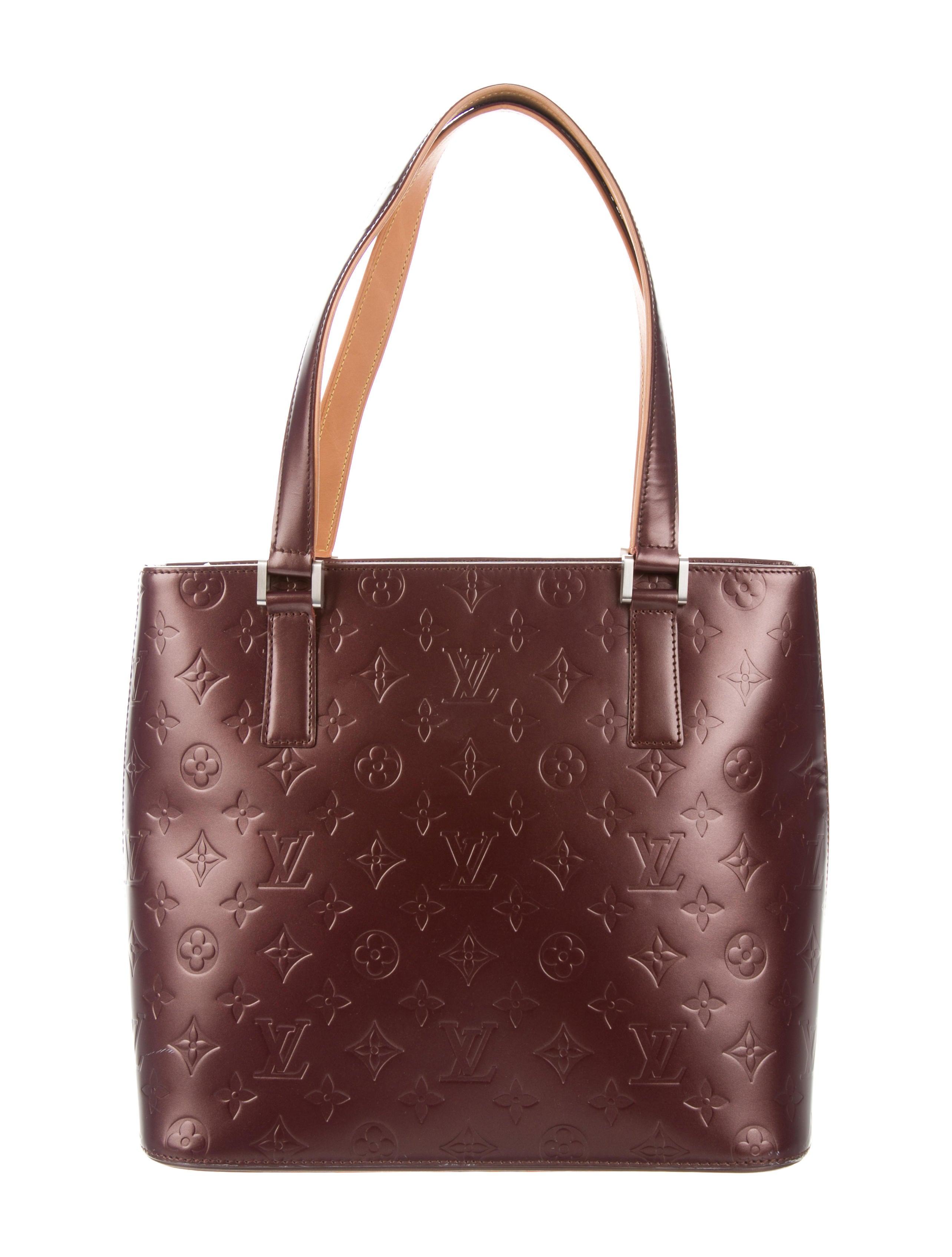 7e666d850ab2 Louis Vuitton Monogram Mat Stockton - Handbags - LOU161326