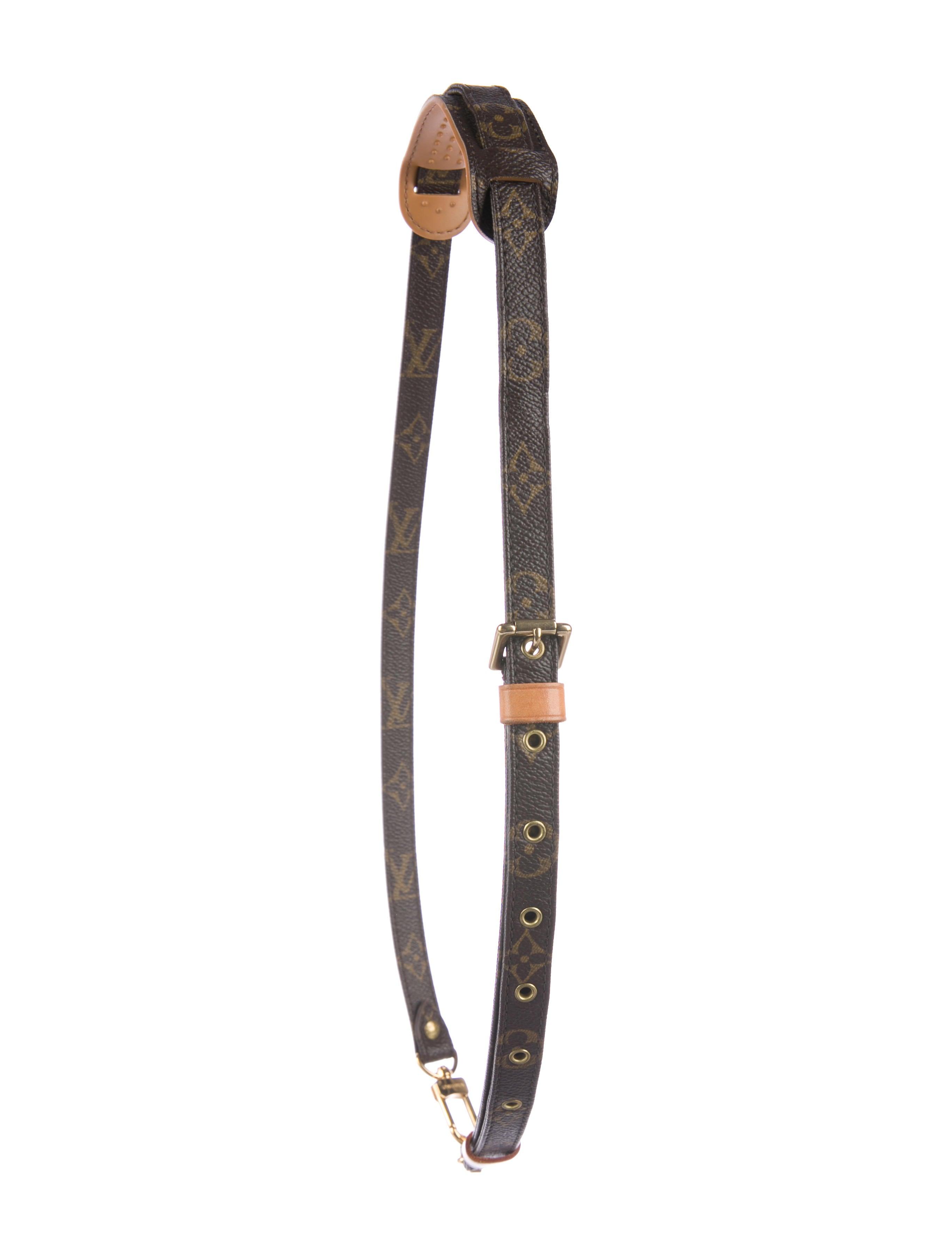 Louis Vuitton Monogram Adjustable Shoulder Strap 16mm Accessories Lou161373 The Realreal