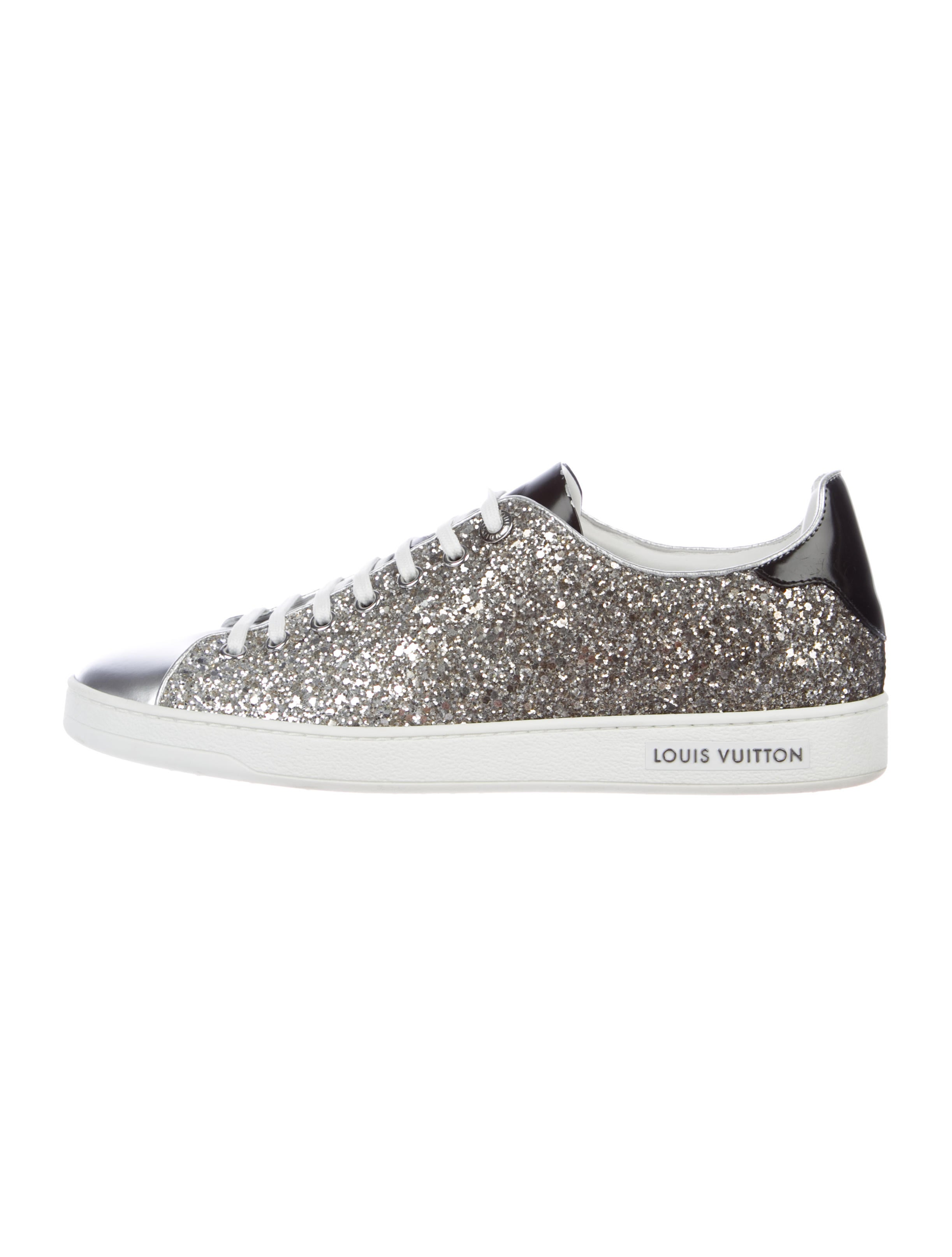 Louis Vuitton Glitter Low-Top Sneakers
