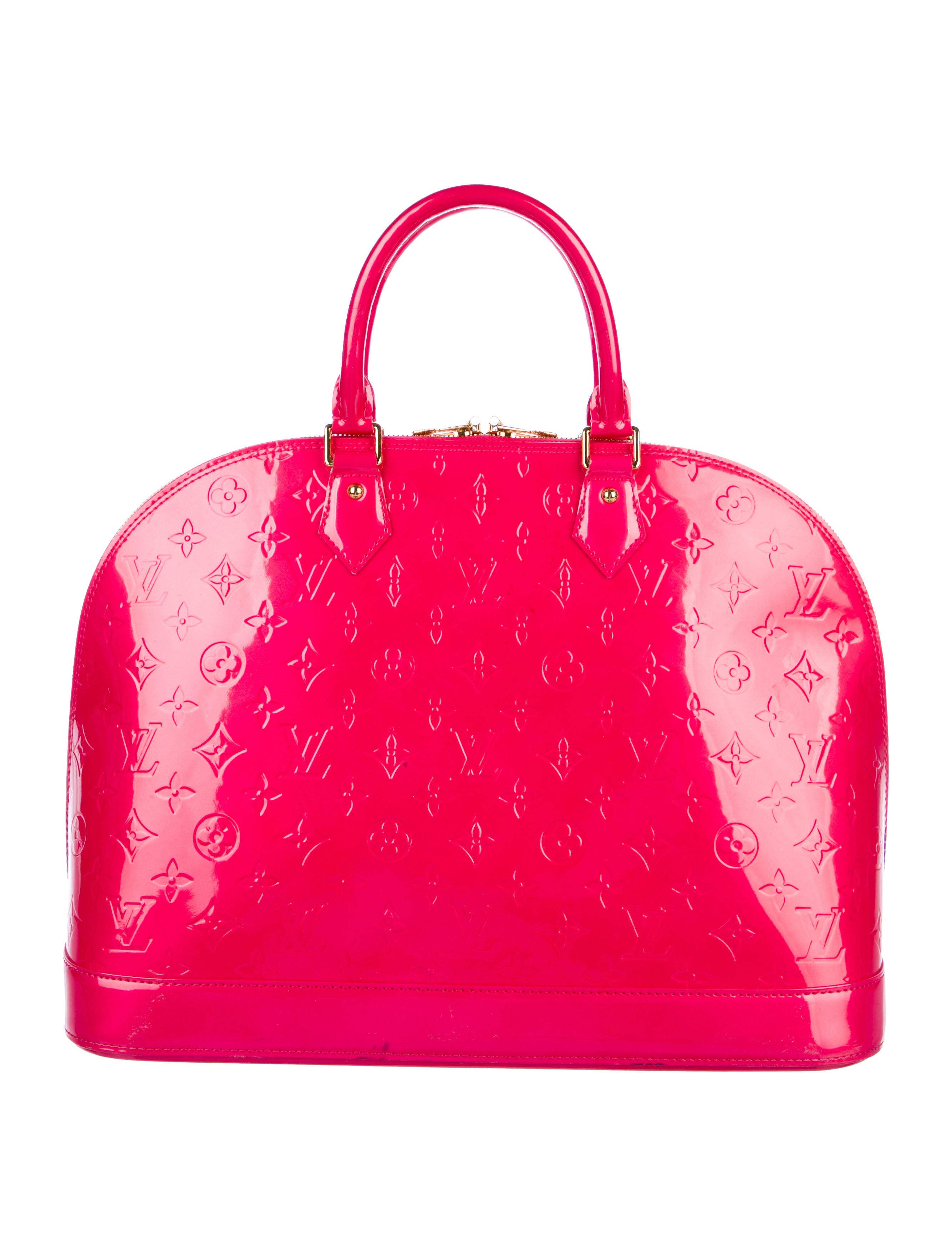 08617071458b Louis Vuitton Vernis Alma GM - Handbags - LOU165456