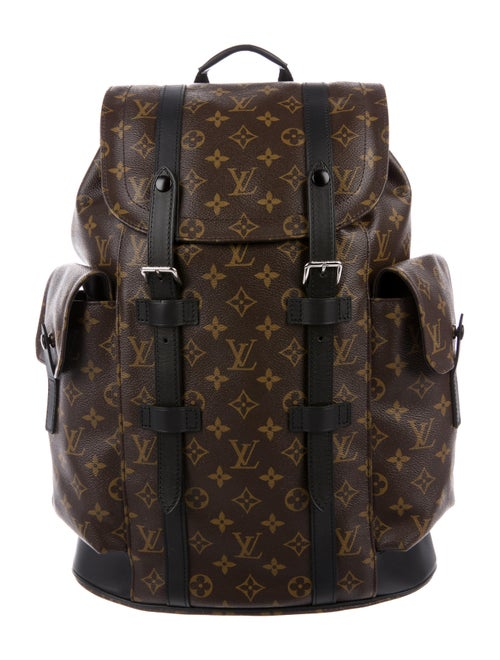 989224446596 Louis Vuitton Macassar Christopher PM Backpack - Bags - LOU171639 ...