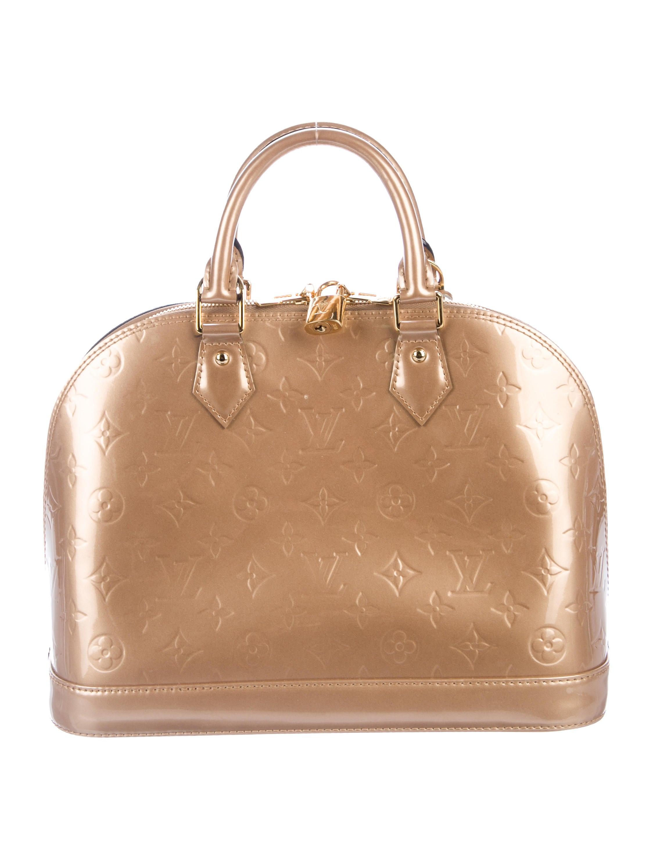 e5cb9a6f4106 Louis Vuitton Vernis Alma PM - Handbags - LOU172739