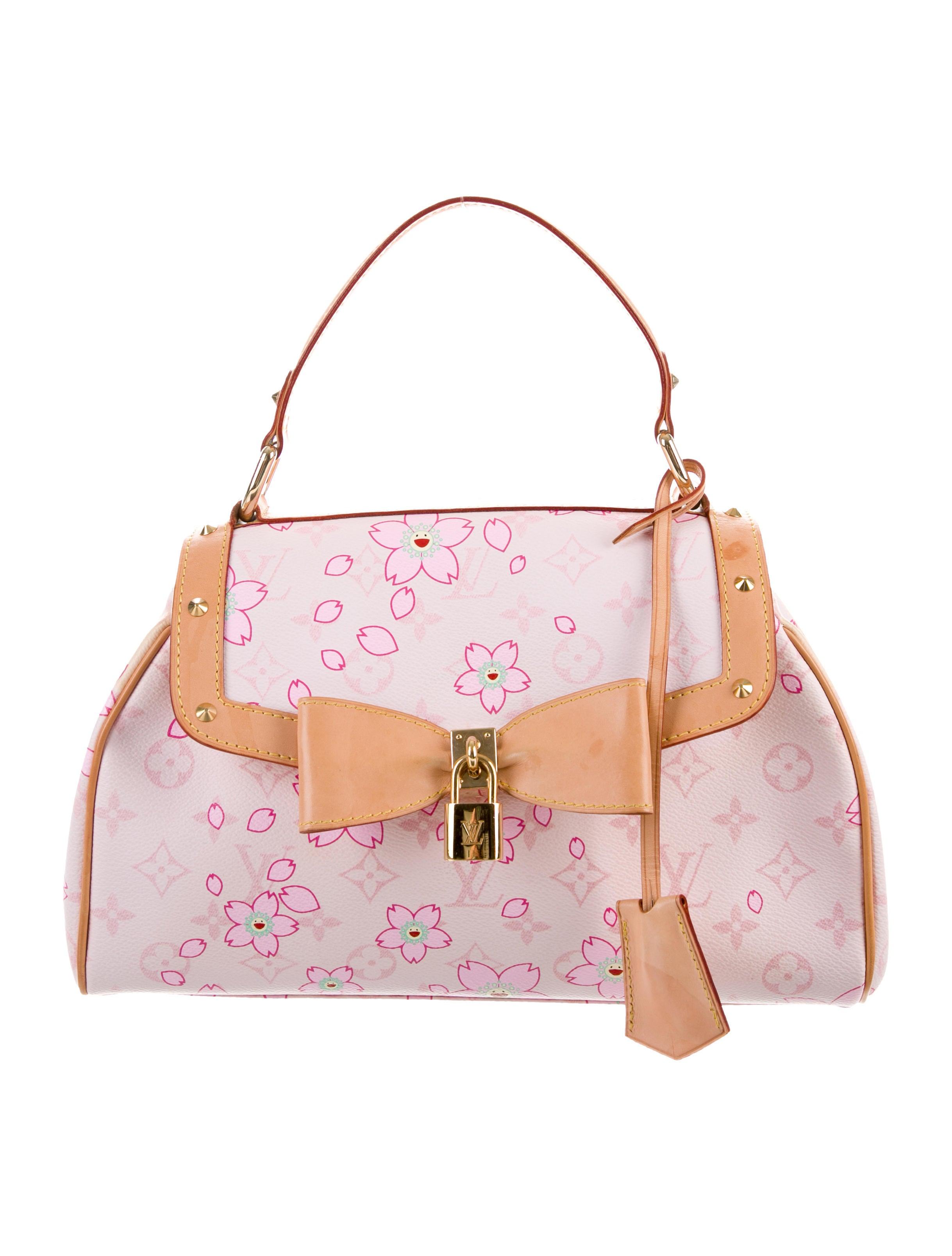 44982e31b05f Louis Vuitton Cherry Blossom Sac Retro - Handbags - LOU172790