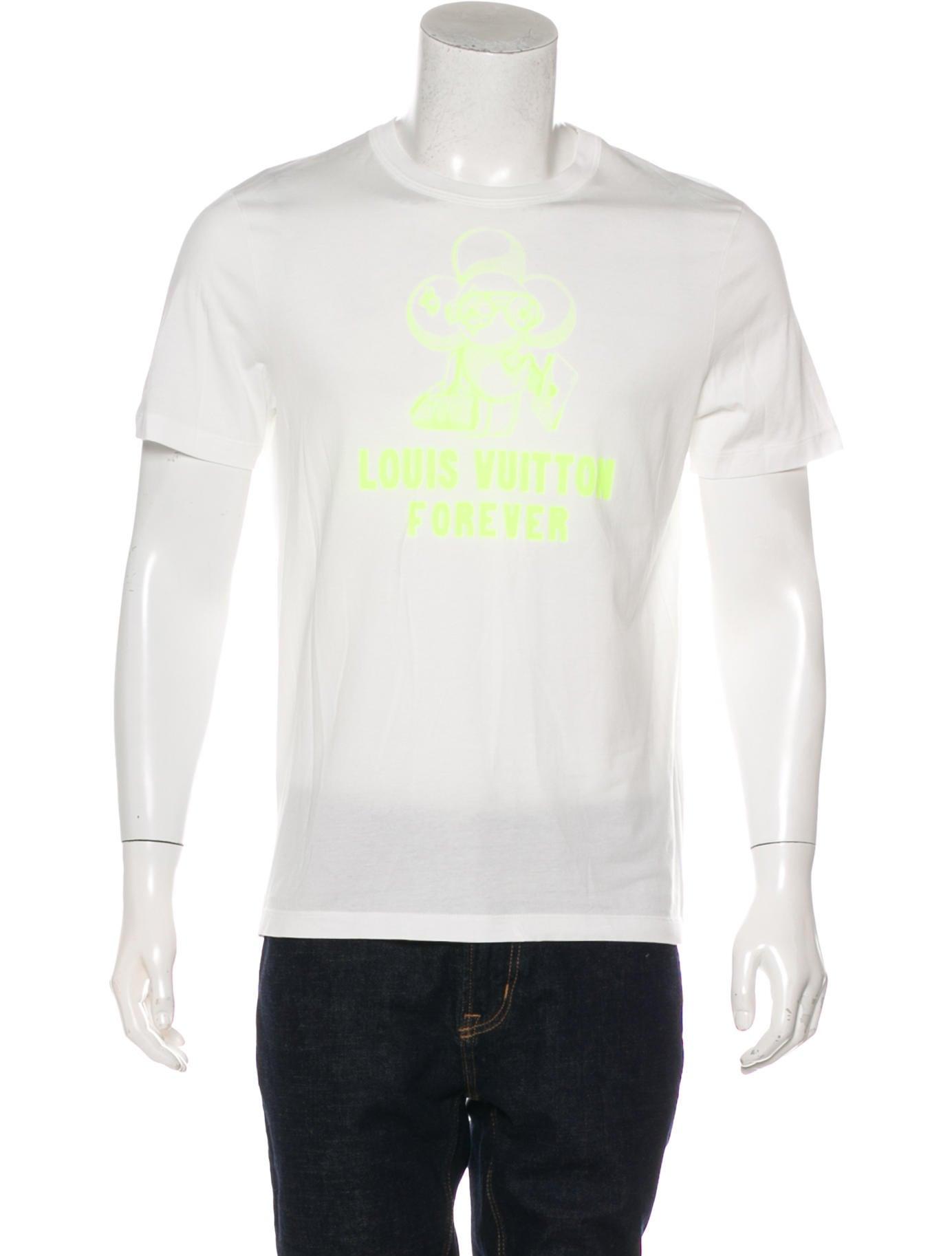 28de7e081fef Louis Vuitton 2018 Vivienne Forever Graphic T-Shirt - Clothing ...