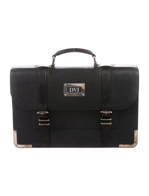 Louis Vuitton Epi Larry Briefcase black