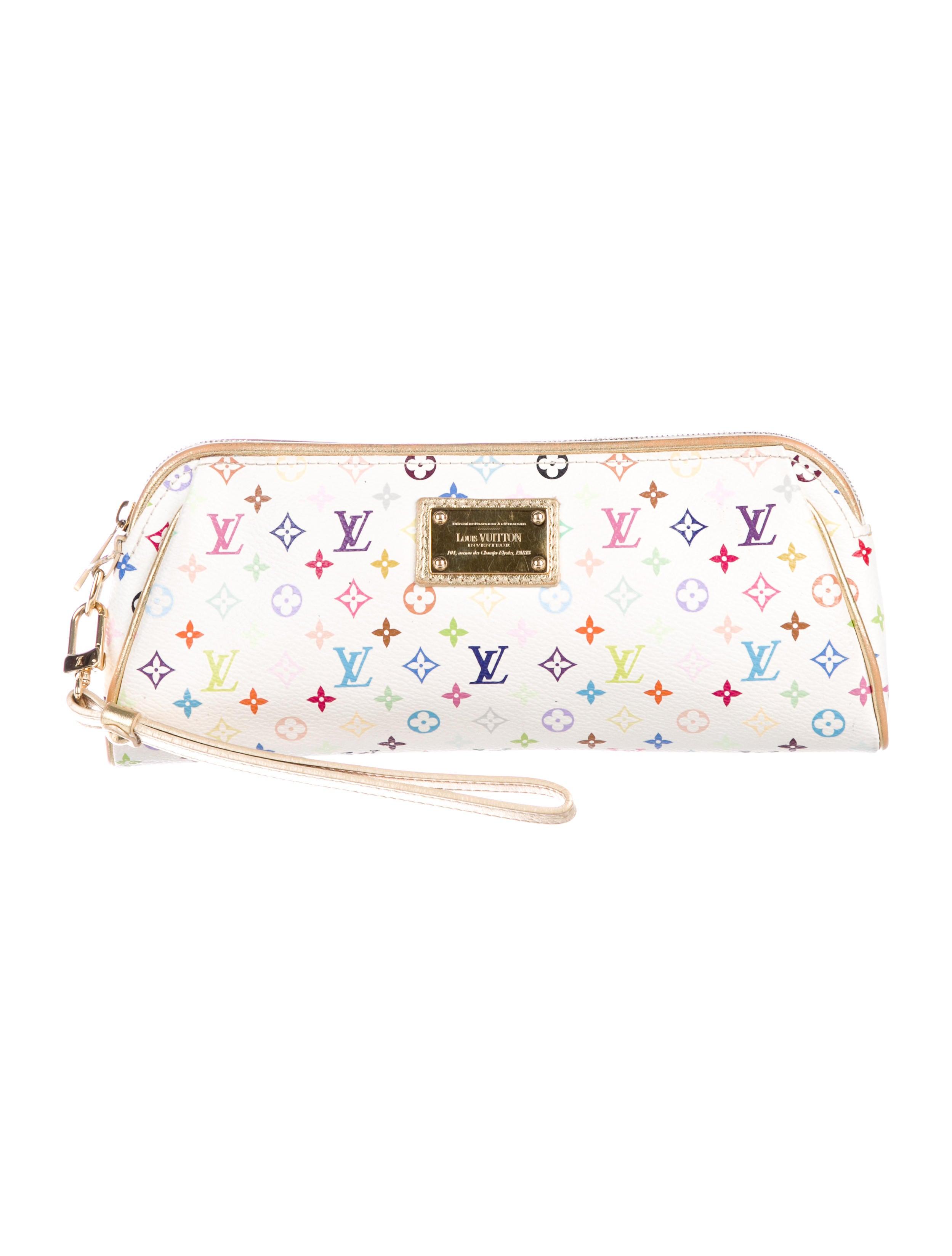 48916877e716 Louis Vuitton Mini Monogram Multicolore Kate Clutch - Handbags ...