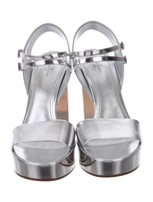 11d87356465e Louis Vuitton 2017 Showcase Platform Sandals w  Tags - Shoes ...