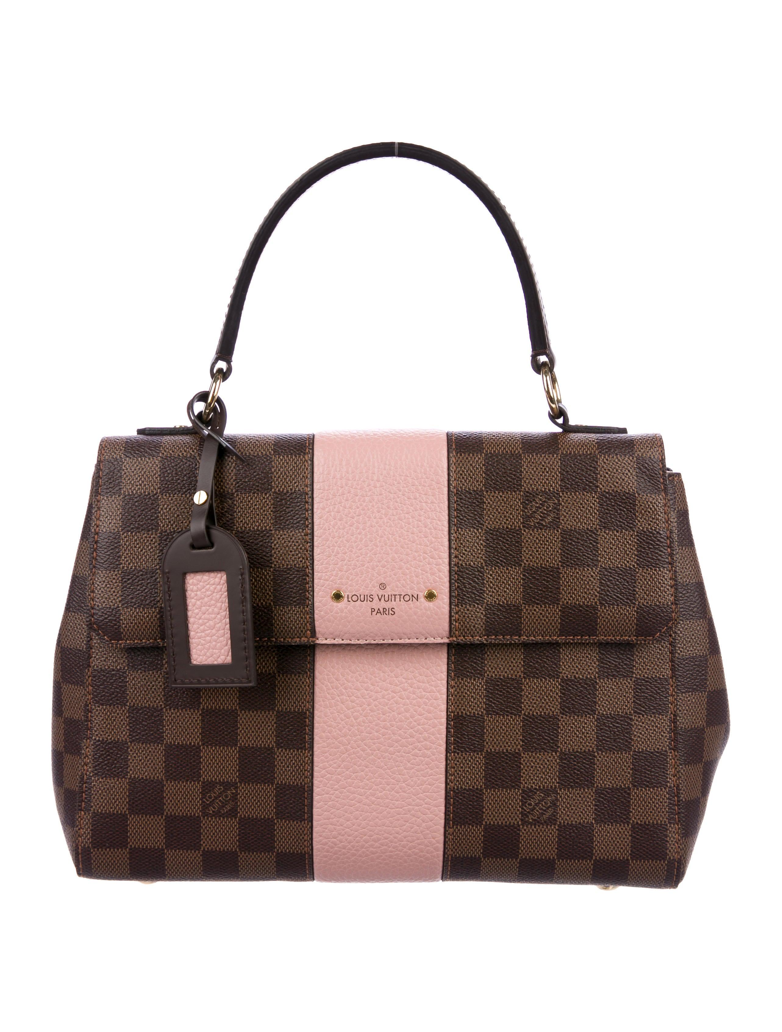 dc0221f60bf1 Louis Vuitton 2018 Damier Ebene Bond Street Satchel - Handbags ...