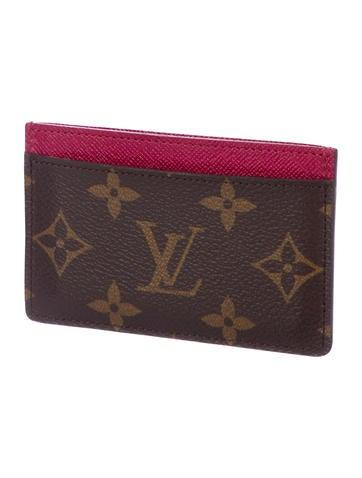 louis vuitton monogram card holder accessories lou177266 the