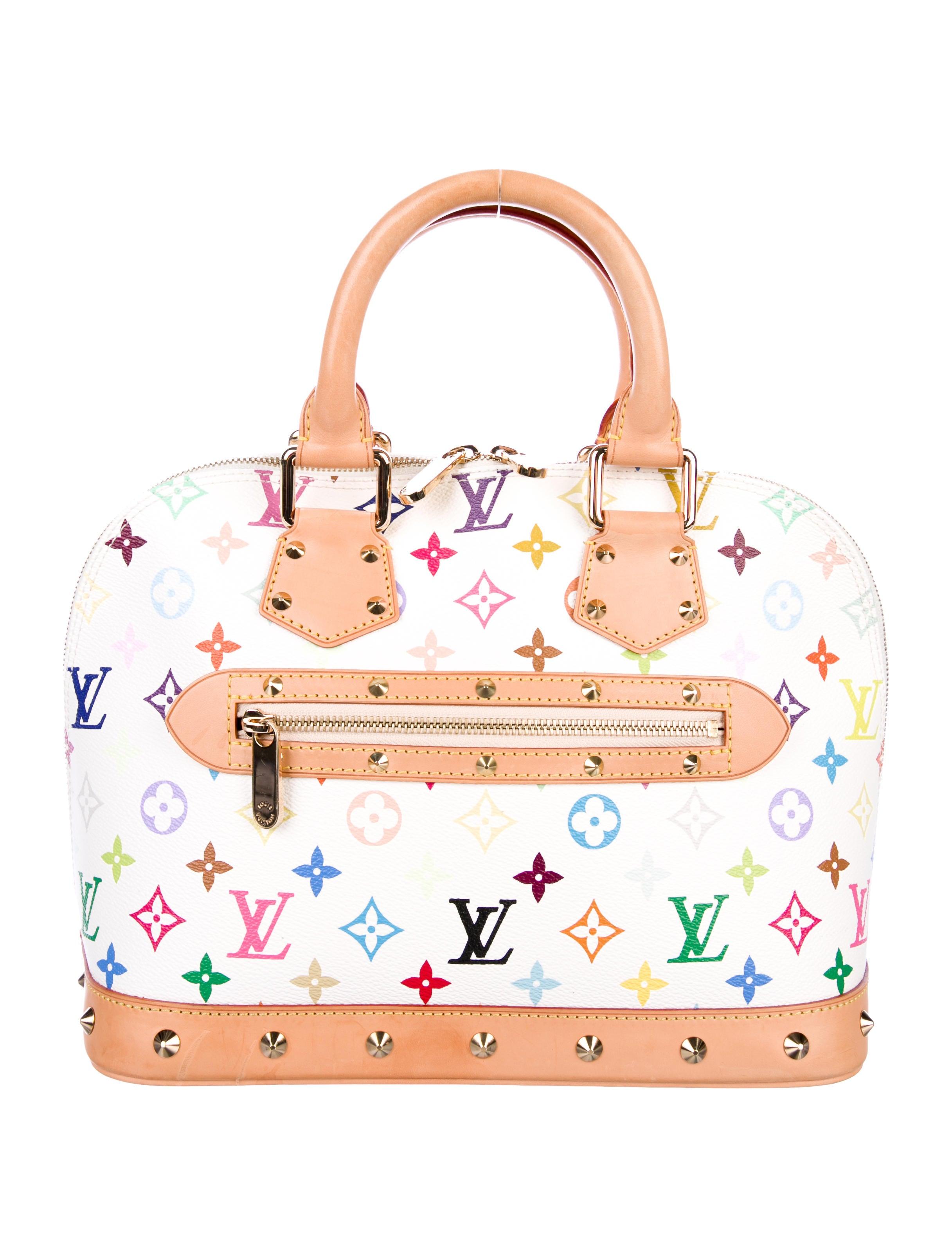 Women Handbags Louis Vuitton Multicolore Alma Mm
