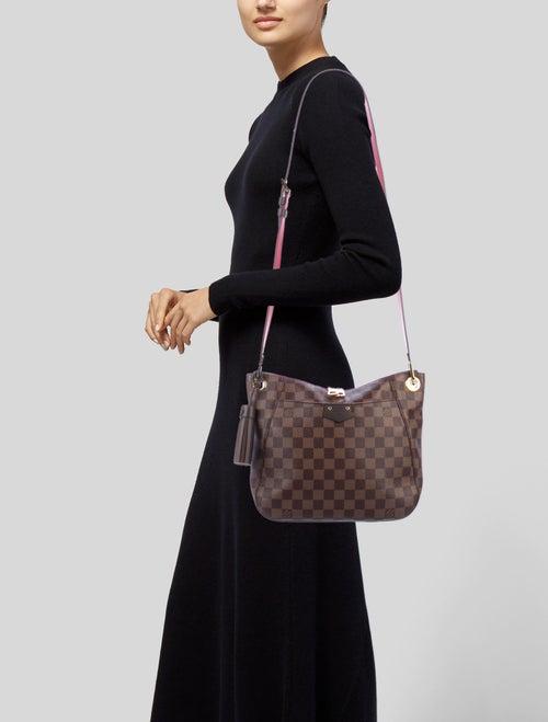 c14ae245f1995 Louis Vuitton 2018 Damier Ebene South Bank Besace - Handbags ...