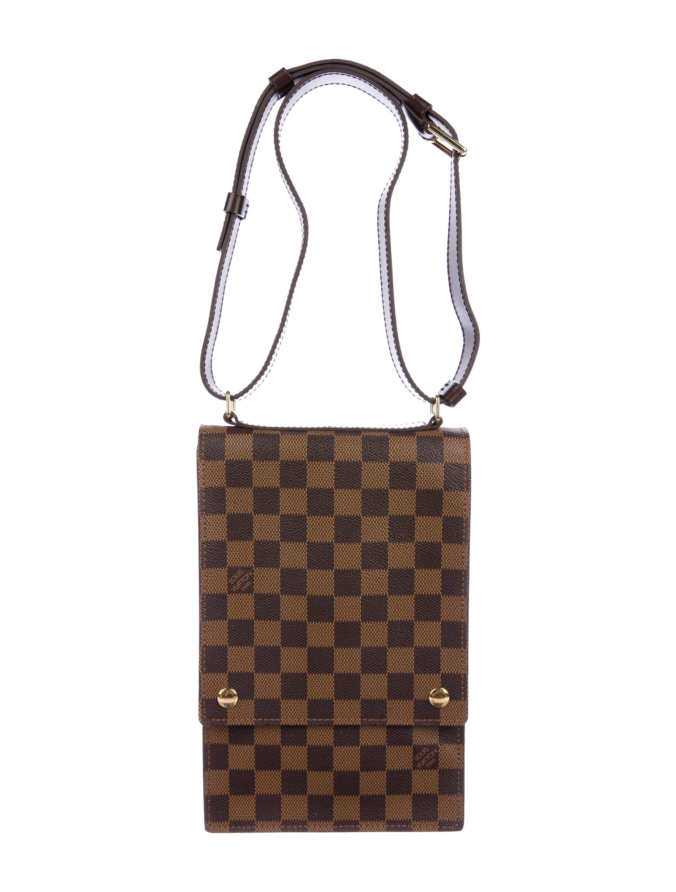 9d7811f54a9a Louis Vuitton Damier Ebene Portobello Crossbody Bag - Handbags ...