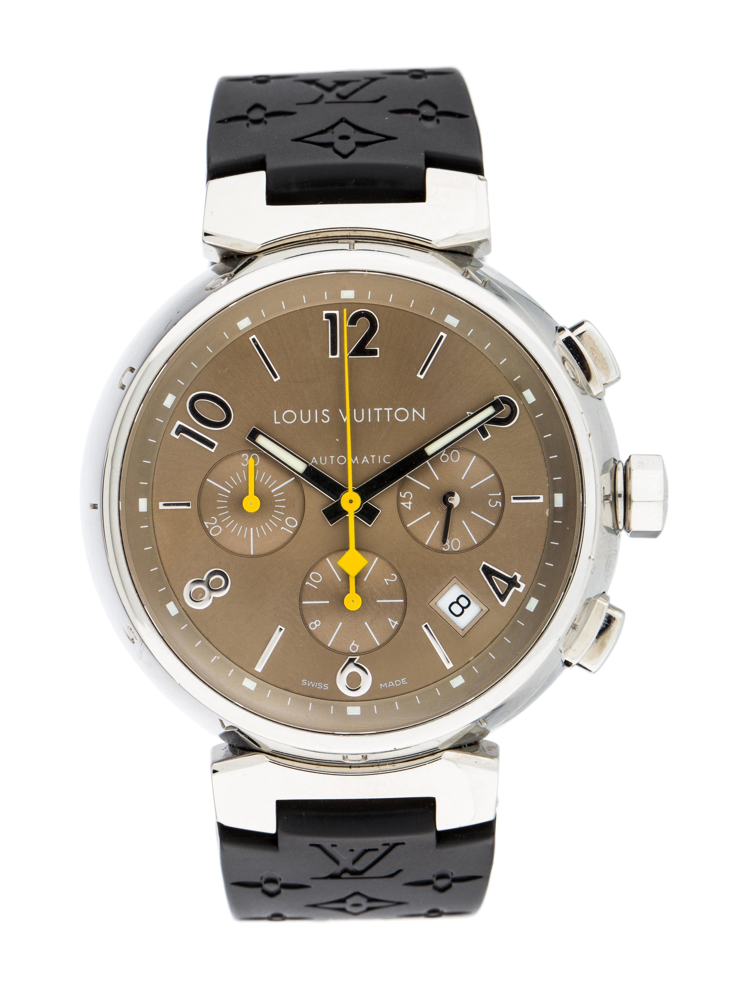 386ef89ef69d Louis Vuitton Tambour Watch - Strap - LOU180896