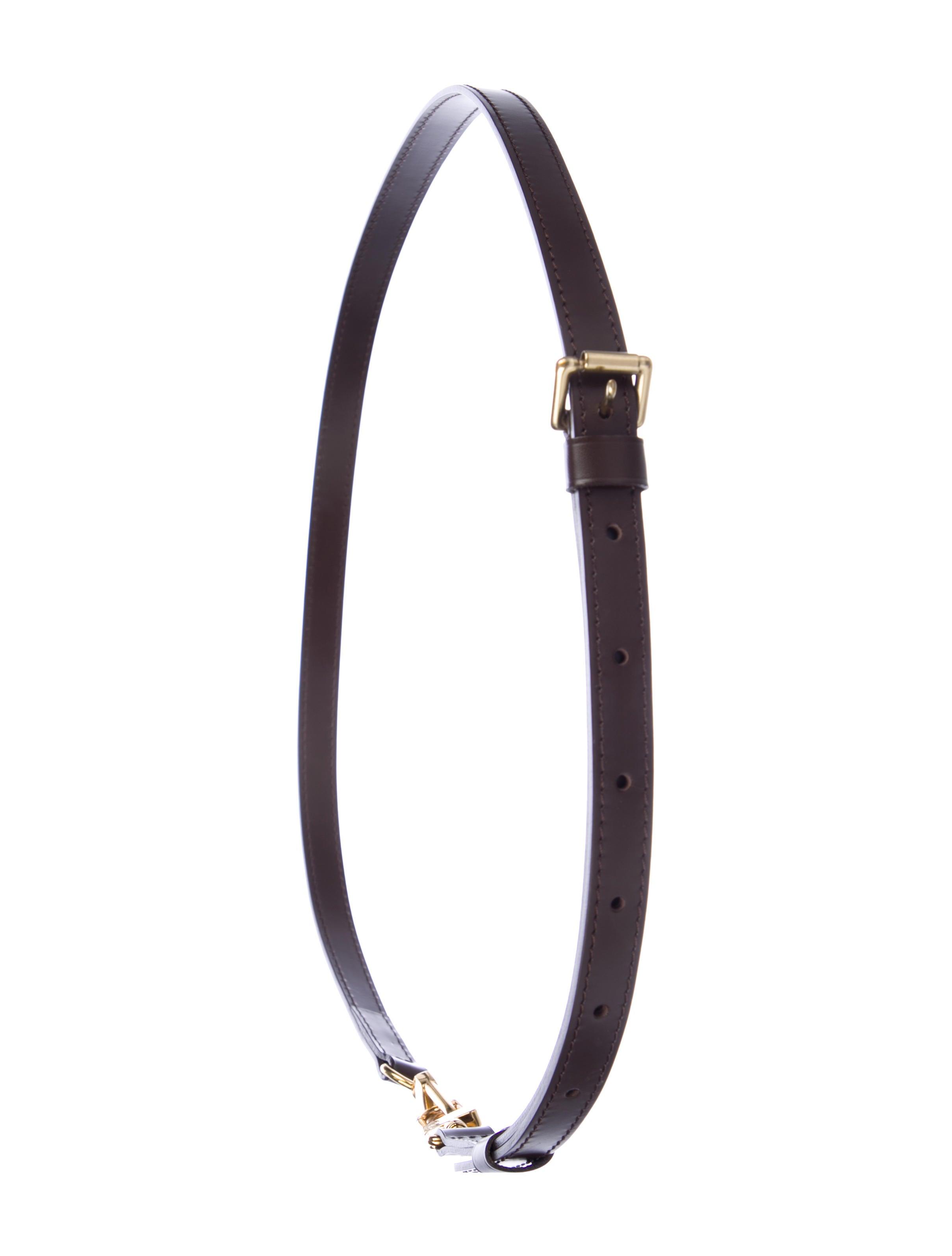 84057b5e441bc Louis Vuitton Adjustable Shoulder 16MM Ebene Shoulder Strap ...