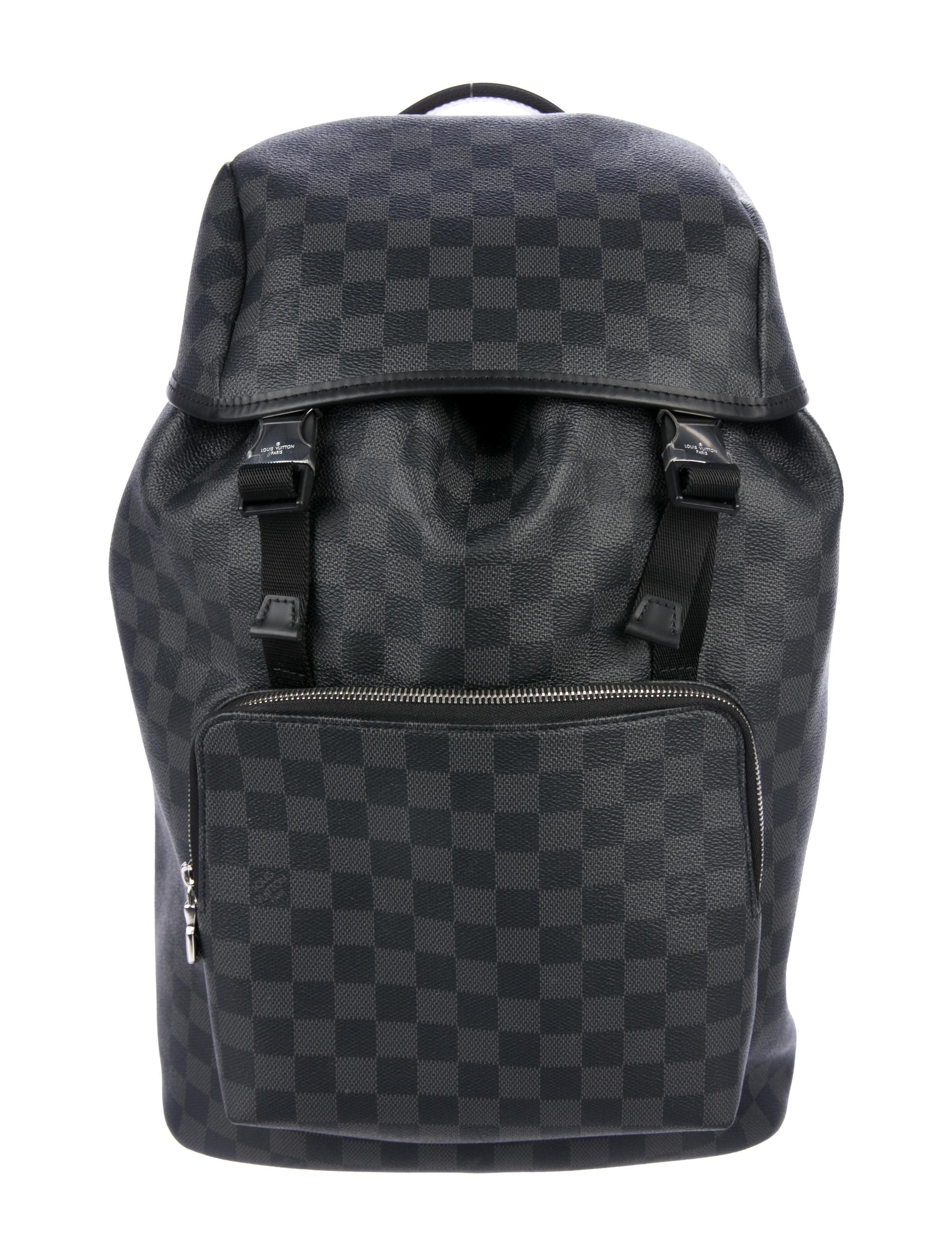 Louis Vuitton 2018 Damier Graphite Zack Backpack - Bags - LOU181653 ... 74bca93bdb