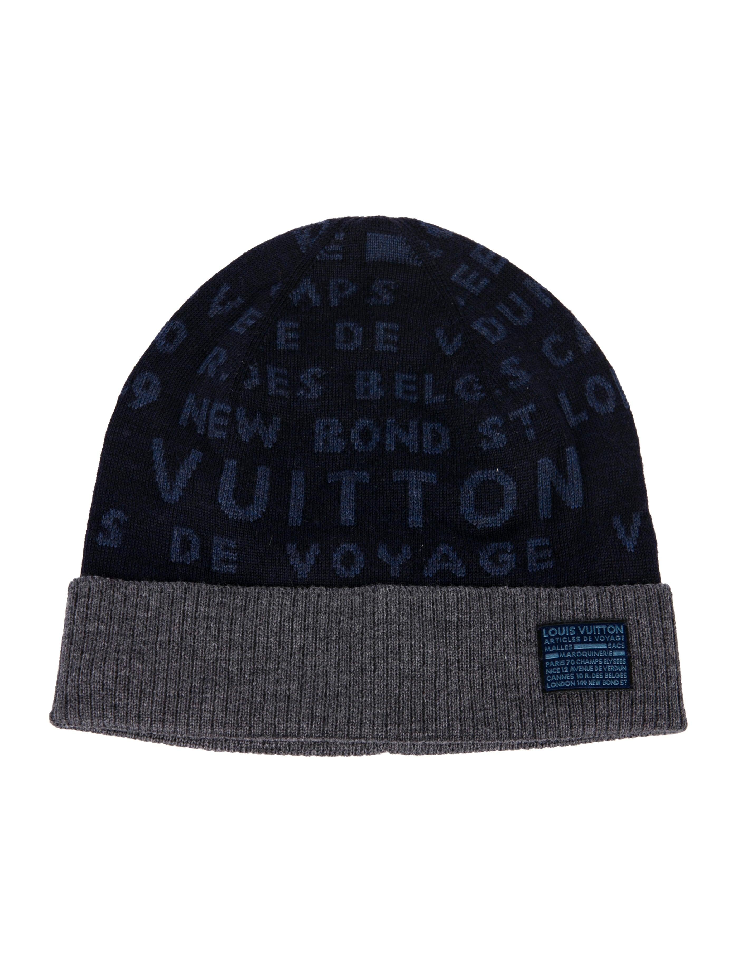 Louis Vuitton Article de Voyage Wool Beanie - Accessories ... b1f1899d08a