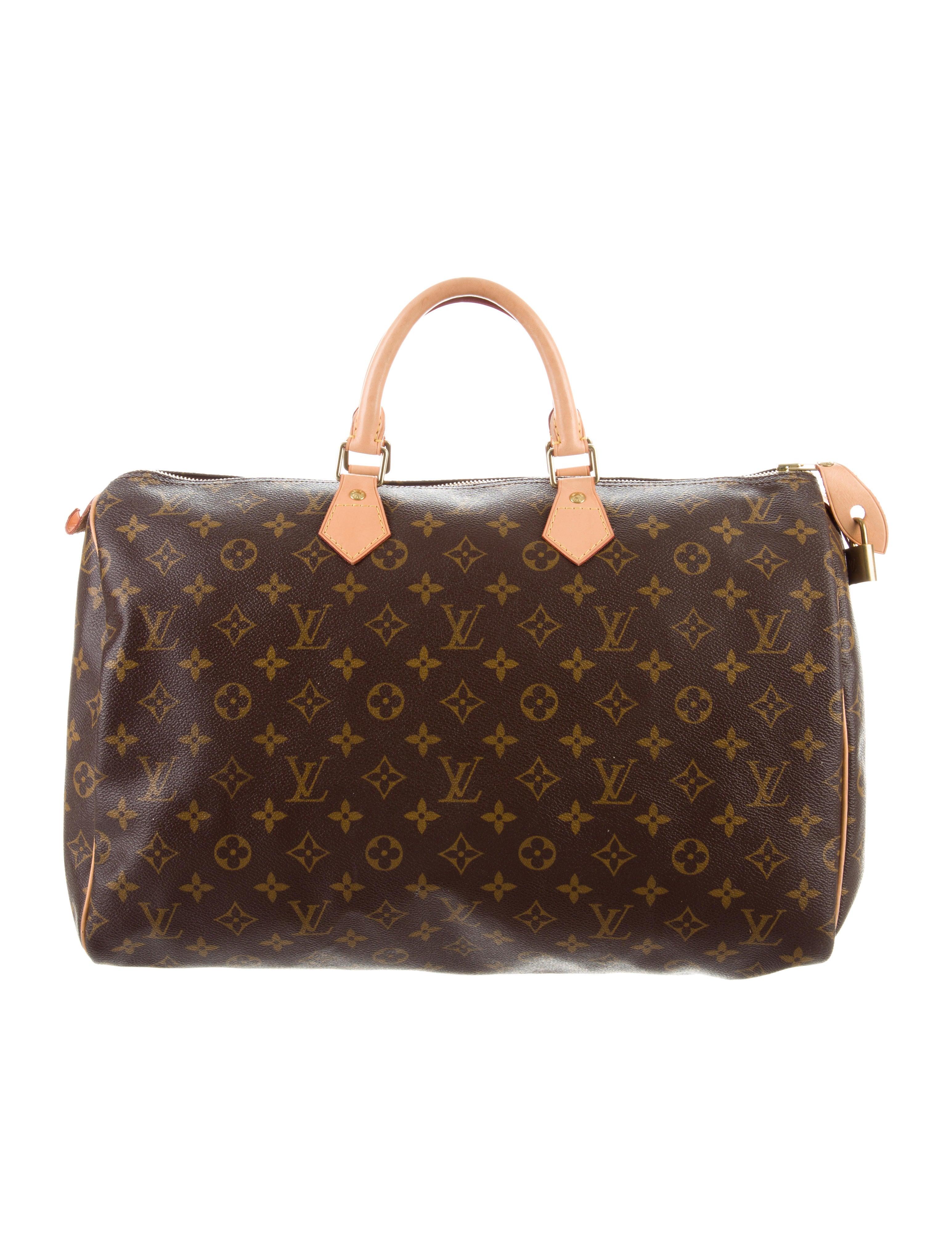 dc0957b00b05 Louis Vuitton Monogram Speedy 40 - Handbags - LOU184332