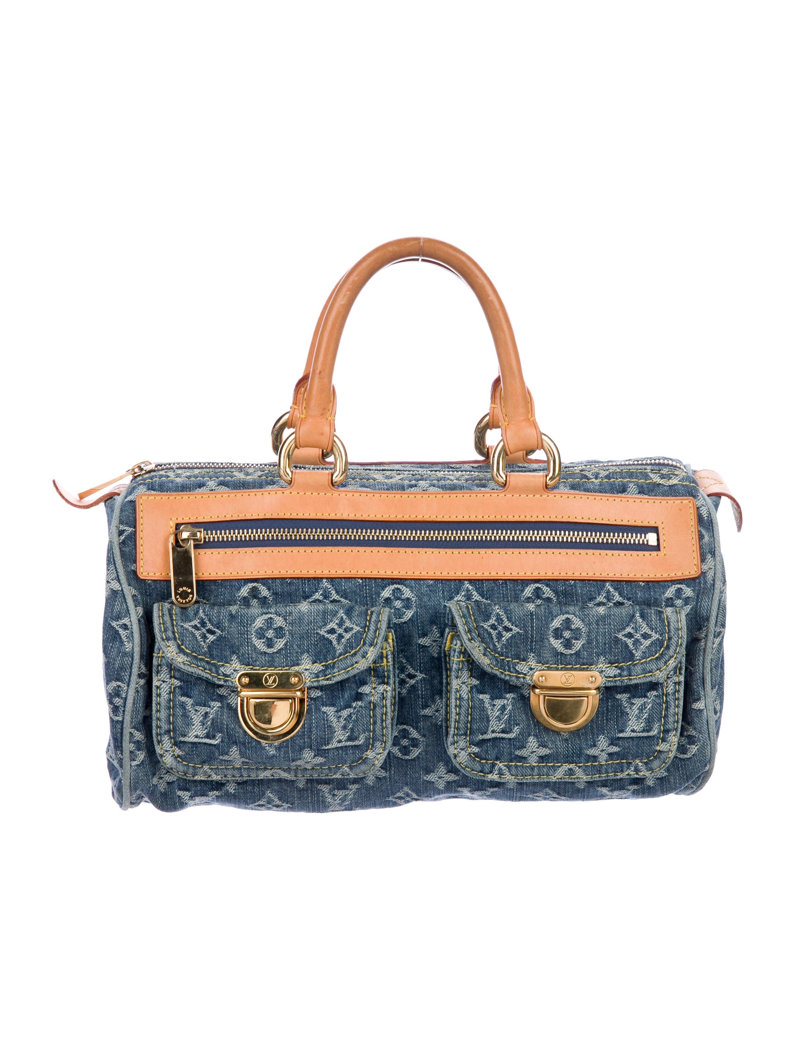 Denim Neo Speedy Bag by Louis Vuitton