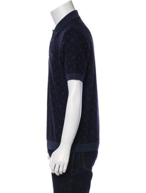 776632074a1c 2018 Allover Tweed Monogram Polo Shirt 2018 Allover Tweed Monogram Polo  Shirt ...