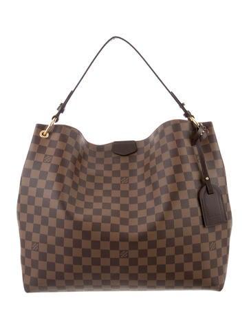 Louis Vuitton 2018 Damier Ebene Graceful MM - Handbags - LOU189802 ... d0f1b14eb38d9