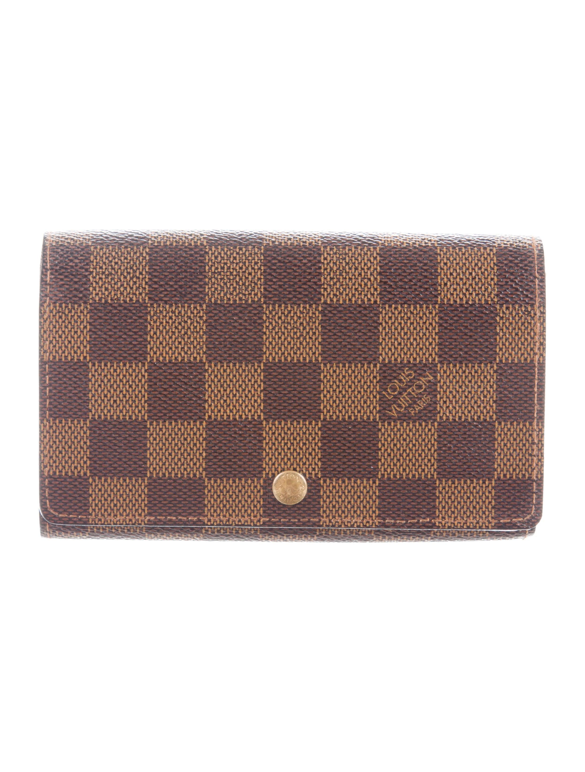 f5a0c511c05 Louis Vuitton Damier Porte-Monnaie Trésor Wallet - Accessories ...
