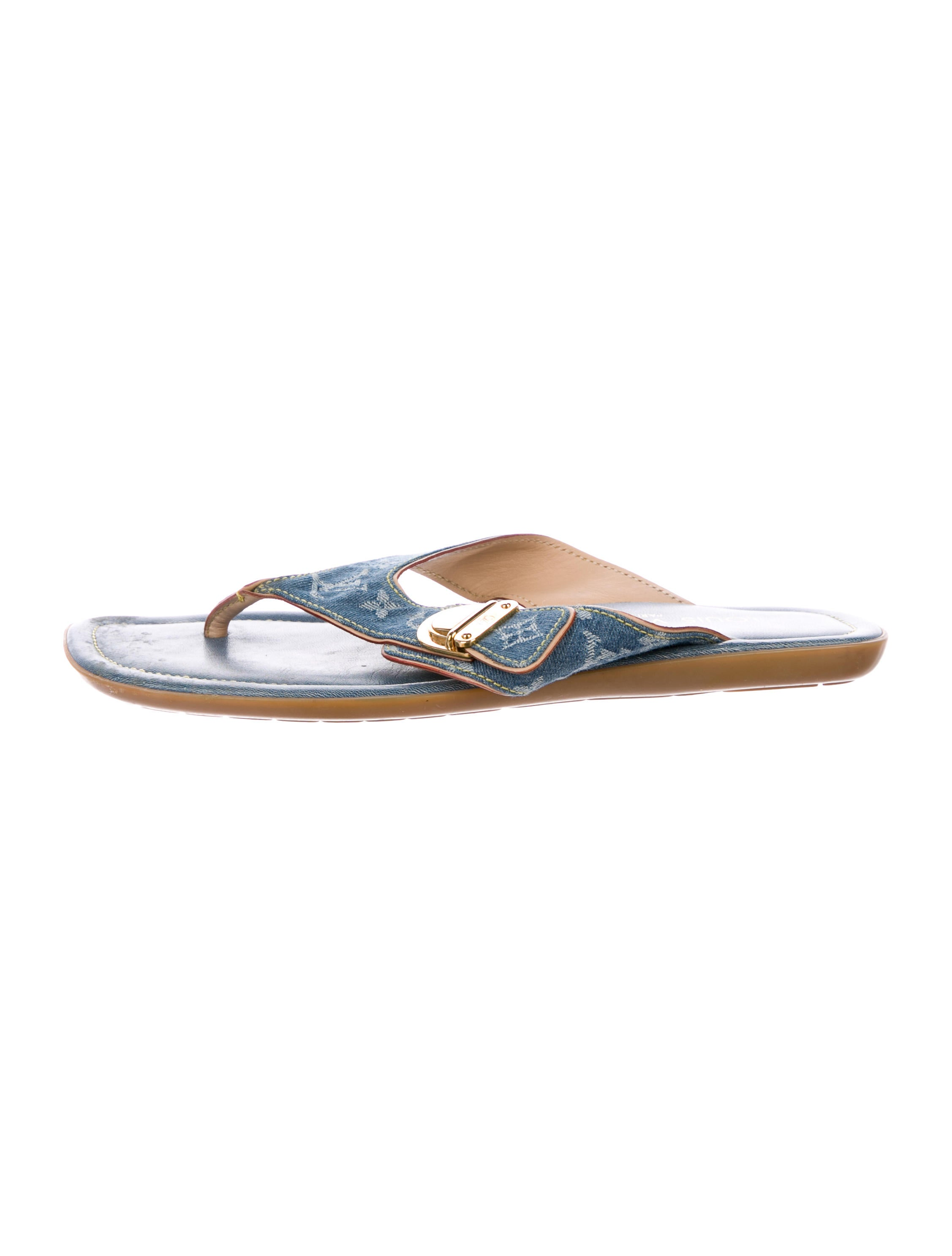 403641ba2e64 Louis Vuitton Monogram Idylle Thong Sandals - Shoes - LOU192257 ...