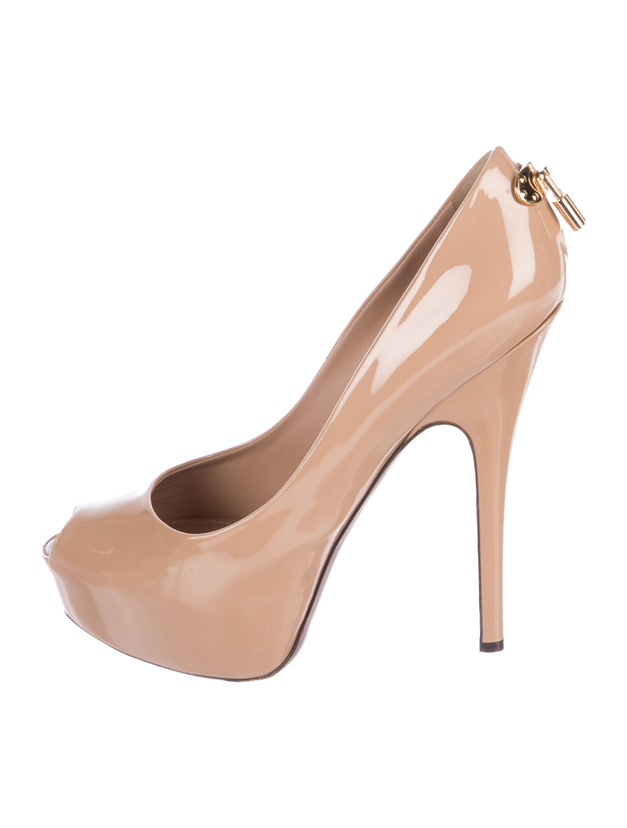 ba605447ff86 Louis Vuitton Oh Really! Platform Patent Pumps - Shoes - LOU192344 ...