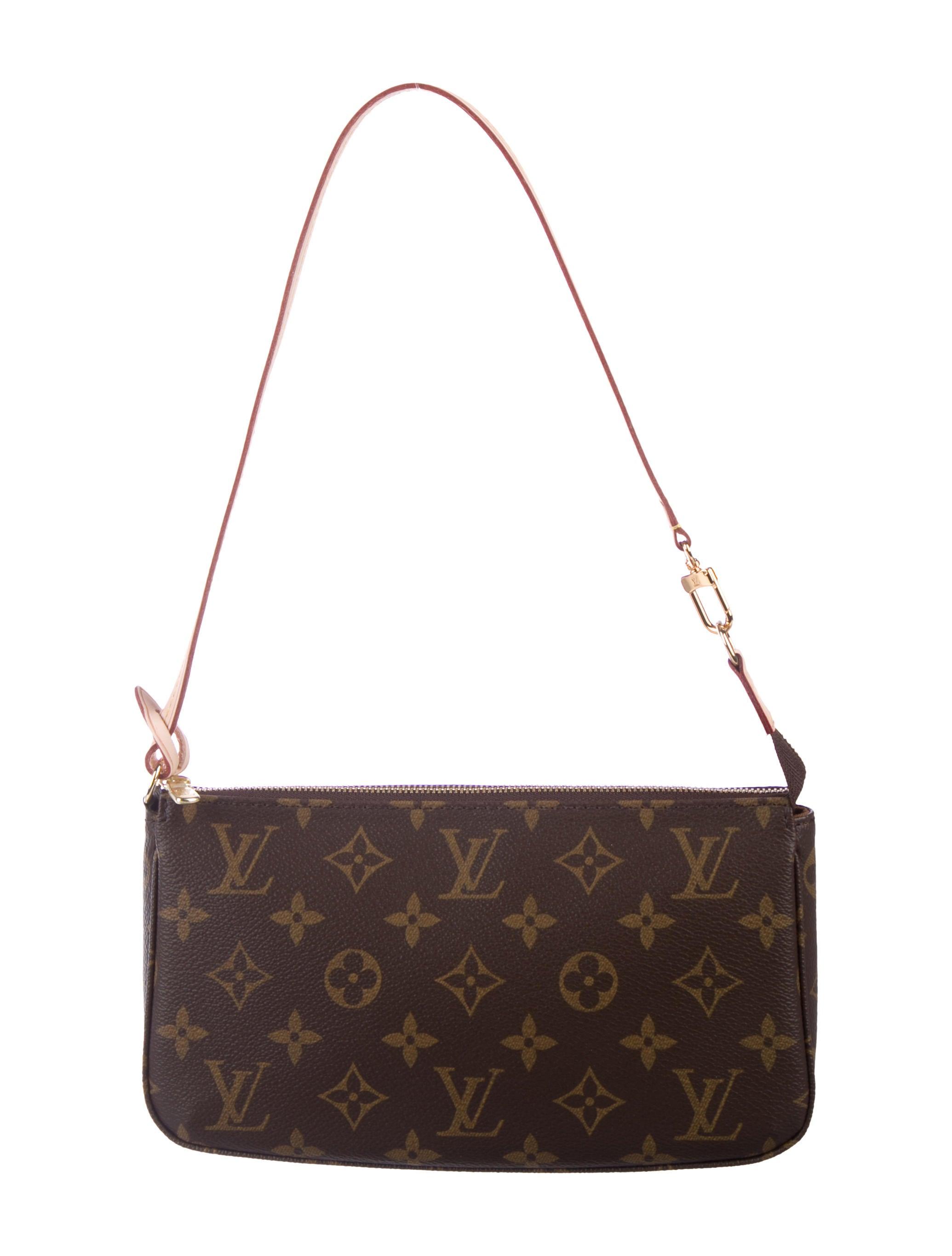 6c5ba0b38 Louis Vuitton Monogram Pochette Accessoires NM w/ Tags - Handbags ...