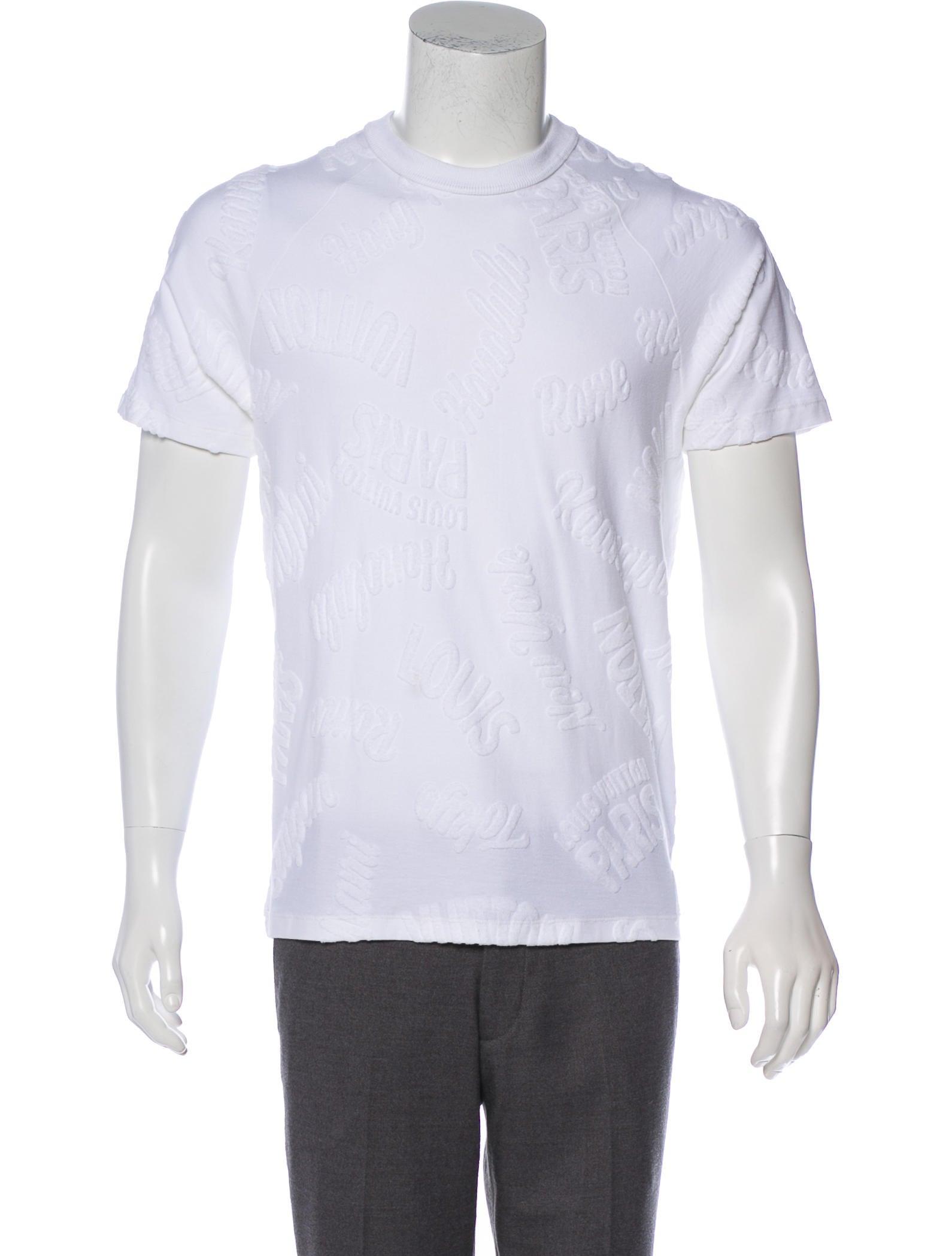 701d562cd51d Louis Vuitton Monogram Toweling T-Shirt - Clothing - LOU195292