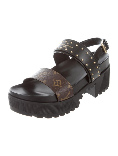 19ac039b41ad Louis Vuitton Laureate Platform Sandals - Shoes - LOU197032